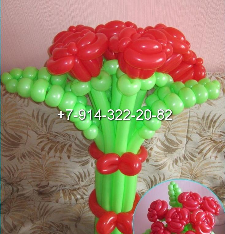 Ромашка из шаров своими руками пошаговое фото 197